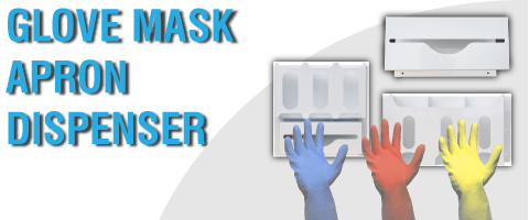 Glove Mask Apron Dispensers