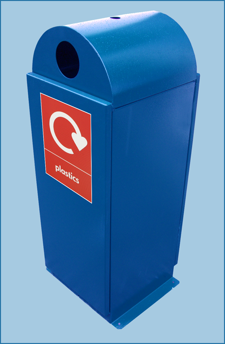Dome Top Litter Bin