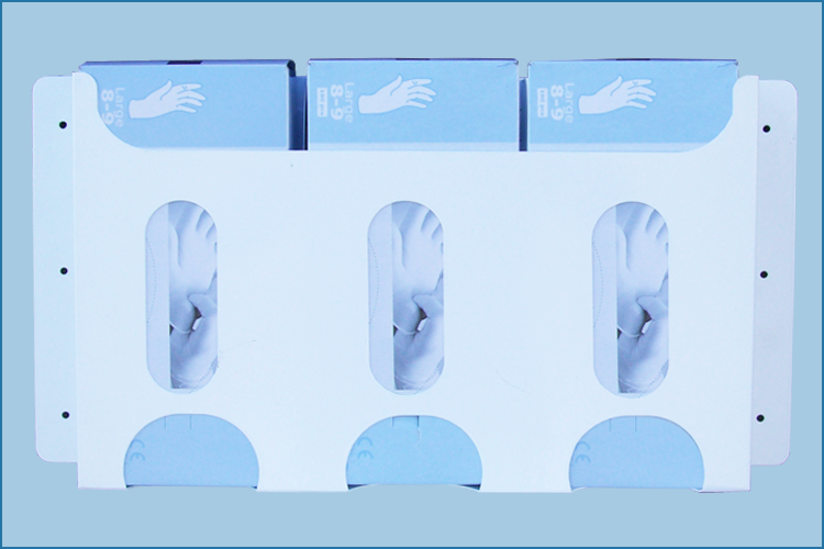 3 Way Glove Dispenser