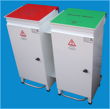 Healthcare Bin Large Twin
