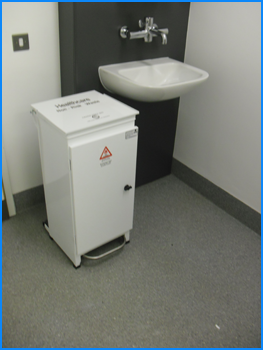 Large Clinical Healthcare Bin
