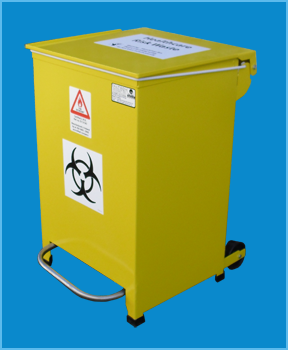 Reduced Height Medium Bin 50L