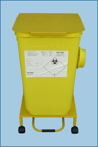 Mobile Sharps 30/60L Bin Trolley