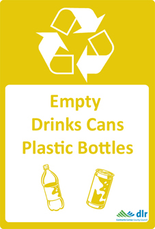 Designed Recycle Signage